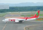 じーく。さんが、新千歳空港で撮影したティーウェイ航空 737-8Q8の航空フォト(飛行機 写真・画像)