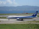 セブンさんが、関西国際空港で撮影した全日空 767-381の航空フォト(飛行機 写真・画像)