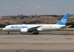 voyagerさんが、マドリード・バラハス国際空港で撮影したエア・ヨーロッパ 787-8 Dreamlinerの航空フォト(写真)