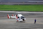 T.Sazenさんが、名古屋飛行場で撮影した朝日航洋 MD-900 Explorerの航空フォト(飛行機 写真・画像)