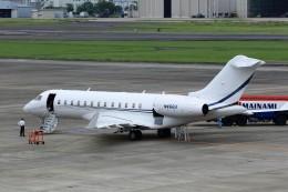 T.Sazenさんが、名古屋飛行場で撮影したアメリカ企業 BD-700 Global Express/5000/6000の航空フォト(写真)