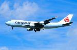 スワンナプーム国際空港 - Suvarnabhumi International Airport [BKK/VTBS]で撮影されたカーゴルクス - Cargolux [CV/CLX]の航空機写真