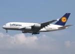 voyagerさんが、フランクフルト国際空港で撮影したルフトハンザドイツ航空 A380-841の航空フォト(飛行機 写真・画像)