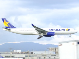 Amaizing787さんが、福岡空港で撮影したスカイマーク A330-343Xの航空フォト(飛行機 写真・画像)