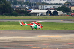 T.Sazenさんが、名古屋飛行場で撮影した岡山市消防航空隊 BK117C-2の航空フォト(写真)