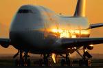 フジコンさんが、羽田空港で撮影したカンタス航空 747-438の航空フォト(写真)