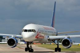 だいせんさんが、マンチェスター空港で撮影したジェット・ツー 757-27Bの航空フォト(飛行機 写真・画像)