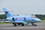 パンダさんが、千歳基地で撮影した航空自衛隊 U-125A(Hawker 800)の航空フォト(写真)