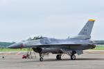 パンダさんが、千歳基地で撮影したアメリカ空軍 F-16CM-50-CF Fighting Falconの航空フォト(写真)
