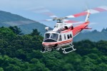 Dojalanaさんが、函館空港で撮影した青森県防災航空隊 412EPIの航空フォト(飛行機 写真・画像)