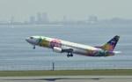 kumagorouさんが、羽田空港で撮影したスカイネットアジア航空 737-4Y0の航空フォト(写真)