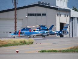 おぶりがーどさんが、松本空港で撮影した神奈川県警察 AW109SPの航空フォト(飛行機 写真・画像)