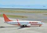 くわなりんさんが、中部国際空港で撮影したチェジュ航空 737-8ASの航空フォト(写真)