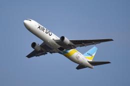 tsubasa0624さんが、羽田空港で撮影したAIR DO 767-33A/ERの航空フォト(写真)