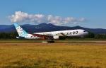 函空さんが、函館空港で撮影したAIR DO 767-381の航空フォト(写真)