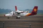 国分人777さんが、鹿児島空港で撮影した徳安航空 DHC-6-400 Twin Otterの航空フォト(写真)