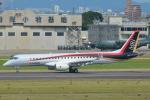 東亜国内航空さんが、名古屋飛行場で撮影した三菱航空機 MRJ90STDの航空フォト(飛行機 写真・画像)