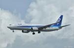 やまちゃんKさんが、那覇空港で撮影した全日空 737-881の航空フォト(写真)