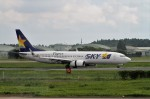 RUNWAY24さんが、茨城空港で撮影したスカイマーク 737-81Dの航空フォト(写真)