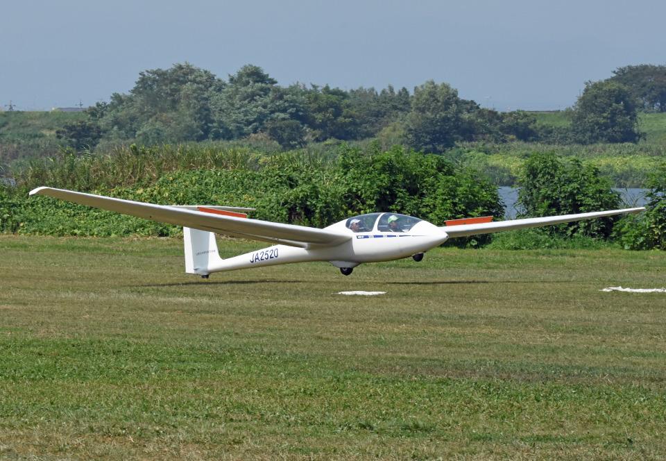 tsubasa0624さんの日本学生航空連盟 Alexander Schleicher ASK 21 (JA2520) 航空フォト