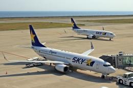 kumariairさんが、神戸空港で撮影したスカイマーク 737-8HXの航空フォト(飛行機 写真・画像)
