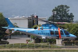 ゴンタさんが、松本空港で撮影した神奈川県警察 AW109SPの航空フォト(飛行機 写真・画像)