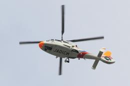 ルビーさんが、福岡空港で撮影したKBC 九州朝日放送 AS365N2 Dauphin 2の航空フォト(飛行機 写真・画像)