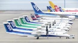 誘喜さんが、中部国際空港で撮影したANAウイングス DHC-8-402Q Dash 8の航空フォト(写真)