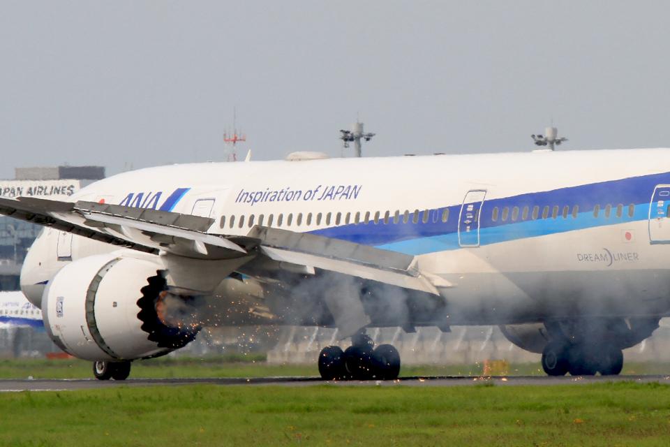 maverickさんの全日空 Boeing 787-8 Dreamliner (JA840A) 航空フォト