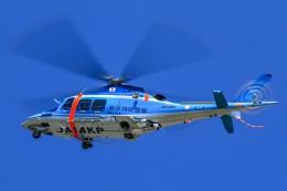 アミーゴさんが、松本空港で撮影した神奈川県警察 AW109SPの航空フォト(飛行機 写真・画像)