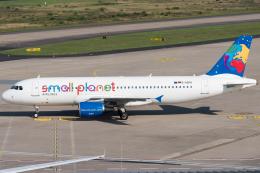航空フォト:D-ASPG スモール・プラネット・エアラインズ・ジャーマニー A320