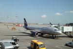 maccha_chaさんが、シェレメーチエヴォ国際空港で撮影したアエロフロート・ロシア航空 A320-214の航空フォト(写真)