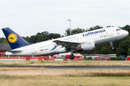 航空フォト:D-AILU ルフトハンザドイツ航空 A319