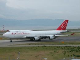 しゃこ隊さんが、関西国際空港で撮影したエア・カーゴ・ジャーマニー 747-409(BDSF)の航空フォト(飛行機 写真・画像)