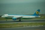 かみきりむしさんが、中部国際空港で撮影したウズベキスタン航空 A320-214の航空フォト(写真)