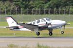 syo12さんが、函館空港で撮影した航空大学校 Baron G58の航空フォト(写真)