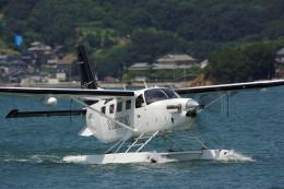 COLT VerRさんが、境ガ浜マリーナで撮影したせとうちSEAPLANES Kodiak 100の航空フォト(写真)
