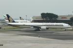 シンガポール・チャンギ国際空港 - Singapore Changi International Airport [SIN/WSSS]で撮影されたシンガポール航空 - Singapore Airlines [SQ/SIA]の航空機写真