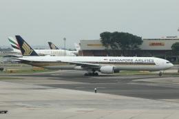 masa707さんが、シンガポール・チャンギ国際空港で撮影したシンガポール航空 777-312の航空フォト(写真)