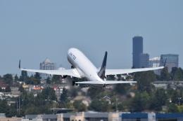 romyさんが、ボーイングフィールドで撮影したユナイテッド航空 737-824の航空フォト(飛行機 写真・画像)