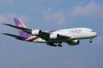 Astechnoさんが、成田国際空港で撮影したタイ国際航空 A380-841の航空フォト(写真)