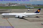 Chofu Spotter Ariaさんが、羽田空港で撮影したルフトハンザドイツ航空 A340-642Xの航空フォト(写真)