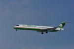 kumagorouさんが、仙台空港で撮影したエバー航空 MD-90-30の航空フォト(写真)