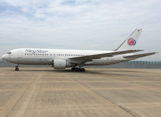 スカイスター航空 Boeing 767-20...