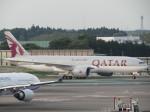 SUIKENさんが、成田国際空港で撮影したカタール航空 777-2DZ/LRの航空フォト(写真)
