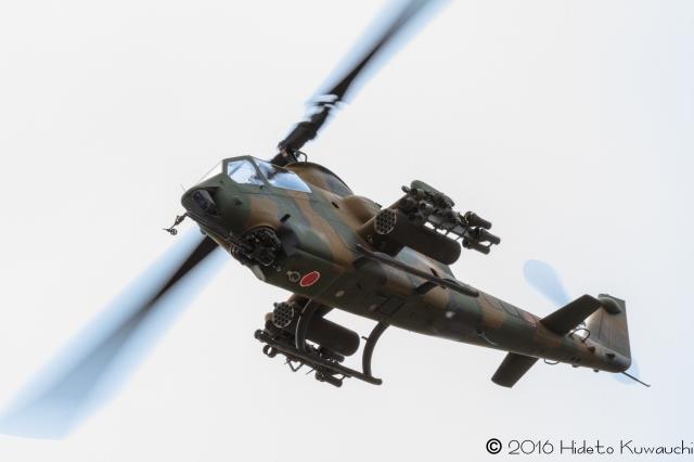 BlackHawkさんが、旭川駐屯地で撮影した陸上自衛隊 AH-1Sの航空フォト(飛行機 写真・画像)