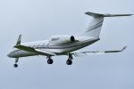 パンダさんが、成田国際空港で撮影したHOWARD HUGHES MANAGEMENT CO LLC G-IV-X Gulfstream G450の航空フォト(飛行機 写真・画像)