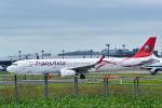 パンダさんが、成田国際空港で撮影したトランスアジア航空 A321-231の航空フォト(飛行機 写真・画像)