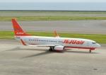 じーく。さんが、中部国際空港で撮影したチェジュ航空 737-8ASの航空フォト(飛行機 写真・画像)