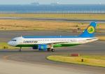 じーく。さんが、中部国際空港で撮影したウズベキスタン航空 A320-214の航空フォト(飛行機 写真・画像)
